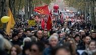 Fransa'da Son Yılların En Büyük Grevi: Gösterilere Katılanların Sayısı 800 Bini Aştı