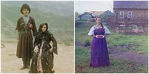 Rusya'nın Devrim Öncesine Ait Renkli Fotoğraflarıyla Hem Geçmişe Hem Farklı Bir Kültürel Yolculuğa Çıkacaksınız