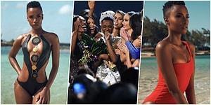 2019 Kainat Güzeli Belli Oldu! Yüzlerce Model Arasından Parlayan Güney Afrika'nın İncisi Zozibini Tunzi Kimdir?