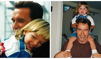 Arnold Schwarzenegger'in Sadece Bir Star Değil Olağanüstü Bir Baba Olduğunun da Kanıtı Olan 15 Fotoğraf
