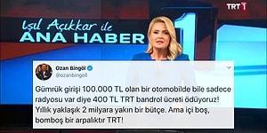 """Ses Sorunu Nedeniyle Yayınlanamayan TRT Ana Haber Bülteni """"Bu Vergiler Tam Olarak Nereye Gidiyor?"""" Sorusuna Neden Oldu!"""