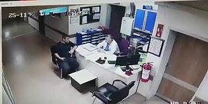 Hastanede Tavandan Düşen Adamı Garipsemeyen Doktor