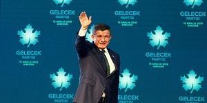 Davutoğlu 'Gelecek Partisi'ni İlan Etti: 'Felsefemiz Özgürlükçülüktür'