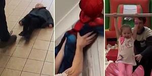 Çocuklarıyla Keyifli Dakikalar Geçiren Babaların Eğlenceli Görüntüleri