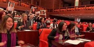 TBMM'de Kadın Milletvekillerinden #LasTesis Protestosu
