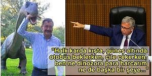 Mansur Yavaş, Melih Gökçek'in Har Vurup Harman Savurduğu Ankara'da Heykellere ve Dinozorlara 342 Milyon Lira Harcamasına İsyan Etti!
