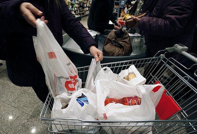 """""""Plastik poşet kullanım oranı yüzde 77 azaldı"""""""