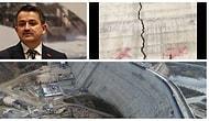 Bakan Pakdemirli 'Ufak Bir Problem Var' Demişti: Melen Barajı'nda Boydan Boya Çatlak Olduğu Ortaya Çıktı