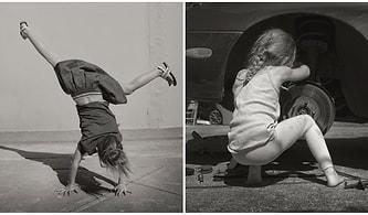 Cinsiyet Kalıplarını Yıkan Küçük Kızının Bu Anlarını Fotoğraflayan Babanın Çalışmaları İçinizi Isıtacak!