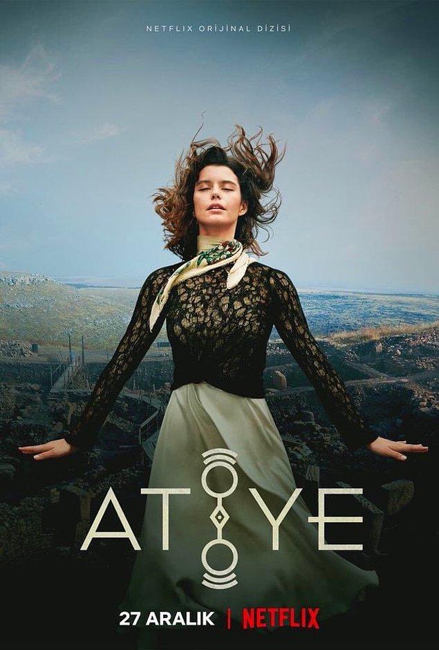3. Netflix'in merakla beklenen ikinci Türk orijinal dizisi Atiye'nin posteri yayınlandı.