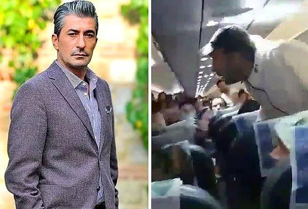 10. Erkan Petekkaya'nın alkollü bir şekilde olay çıkardığı için uçaktan zorla indirildiği iddiaları da epey ses getirmişti!