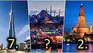 Listede İstanbul da Var! 2019 Yılında Dünyanın En Çok Ziyaret Edilen Şehirleri Açıklandı