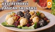 Salataya Olan Bakış Açınızı Değiştiriyoruz! Keçi Peynirli Pancar Salatası Nasıl Yapılır?