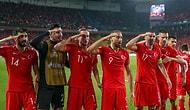 UEFA 'Asker Selamı' Nedeniyle Milli Takıma 50 Bin Euro Ceza Kesti