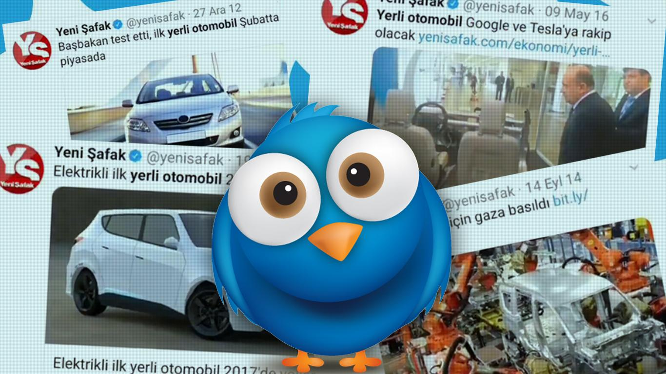 2010 Yılından Beri 71 Kez 'Yerli Otomobil Yollarda' Haberi ...