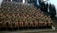 Onlarca Asker Tek Bir Ağızdan 'İzmir Marşı' Söyledi!