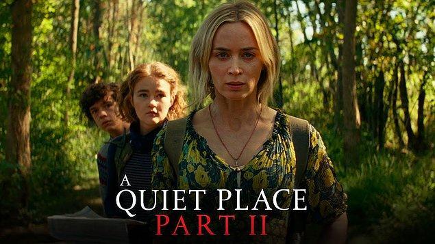 3. Sessiz Bir Yer 2 (A Quiet Place Part II)