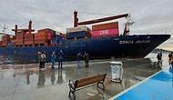 İstanbul Boğazı'nda Gemi Kazası: Sarıyer Aşiyan'da 191 Metre Uzunluğundaki Kargo Gemisi Karaya Oturdu