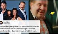 Mustafa Kemal Atatürk'ün Fotoğrafının ATV'de Yayınlanan Bir Dizide Sansürlendiği İddiası Tepkilerin Odağında