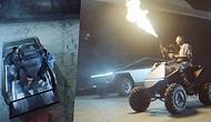 Travis Scott'ın Yeni Şarkısının Klibinde Elon Musk'ın Yeni Tesla Modeli Cybertruck'ı Kullanması Olay Oldu