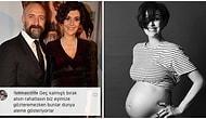 Bergüzar Korel'in 2019'u Uğurlarken Paylaştığı Hamilelik Fotoğrafına Gelen Birbirinden Çirkin Yorumlar Pes Dedirtti!
