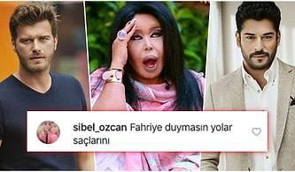 Kıvanç Tatlıtuğ'u Beğenmiyor... Burak Özçivit'e Olan Aşkını Cümle Aleme Duyuran Bülent Ersoy'a Gelen Birbirinden Komik Tepkiler