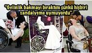 Tekerlekli Sandalyeyle Yaşamak Zorunda Olan Kadınları Ulaşılması Zor Hayallerine Kavuşturan Gelinlikçi!