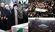 Hamaney Gözyaşlarını Tutamadı: Tahran'da On Binler Süleymani'nin Cenazesi İçin Toplandı