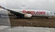 Yolcular Tahliye Edildi, Uçak Trafiği Durduruldu: Sabiha Gökçen Havalimanı'nda Yolcu Uçağı Pistten Çıktı