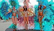 Brezilya'da Karnaval Sezonu Açılıyor: Rio Karnavalı Öncesi İnsanlar Caddeleri Doldurdu!