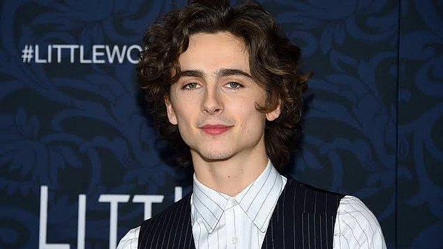 10. Timothèe Chalamet, James Magnold'un yöneteceği biyografi filminde genç Bob Dylan'ı canlandıracak.