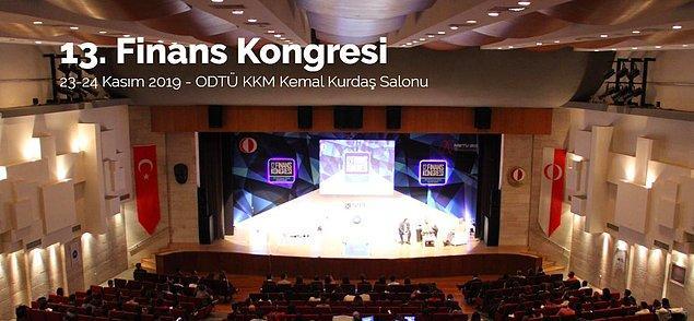 """13. Finans Kongresi'nde konuşan Erkin Şahinöz, Tan için, """"Söyleneni anlıyor, basit komutları yerine getiriyor"""" dedi."""