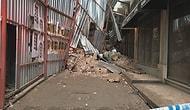 Yanındaki İki Bina Güvenlik Amacıyla Boşaltıldı: Beyoğlu'nda Tadilattaki Binada Çökme