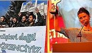 Beren Saat, Yılın Yıldızları Ödülünü İstanbul Üniversitesi Öğrencilerinin Verdiği Onur Mücadelesine Adadı!