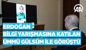 Cumhurbaşkanı Erdoğan, Kim Milyoner Olmak İster'e Katılan Ümmü Gülsüm Genç ile Görüştü!