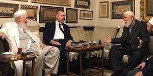 Resmi Programında Yer Almıyordu: Erdoğan'dan İsmailağa Cemaatine Ziyaret