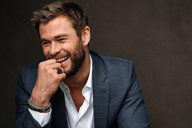 11. Chris Hemsworth