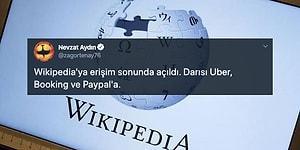 Wikipedia'nın Açılması Sonrasında Sosyal Medyadan Gelen Tepkiler ve Yapılan Paylaşımlar
