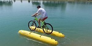 Bir Sırt Çantasına Sığabilecek Tüm Bileşenleri ile Bisikleti Denizde de Kullanmanızı Sağlayan Muhteşem Kit!
