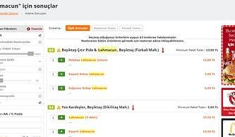 Lahmacunun En İyisine Programlama Diliyle Ulaşmak Mümkün: Beşiktaş'ın En İyi Lahmacununu Python ile Bulmak
