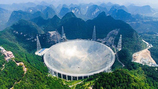 Bu hafta bilim dünyasında her alanda bir ilk yaşandı. Dünya'nın en büyük teleskobu kullanıma açıldı!