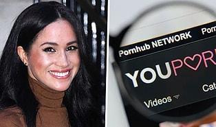 Bir Porno Sitesinden Kraliyet Ailesinden Ayrılan Meghan Markle'a İş Teklifi Geldi!