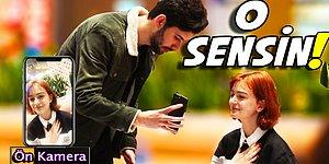 Telefonun Ön Kamerasını Açıp İnsanlara 'Bu Güzeli Arıyorum' Diyen YouTuber!
