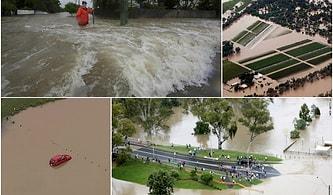 Yüzyılda Bir Görülen Yağış Kıtayı Vurdu: Avustralya Yangının Yanında Bir de Selle Boğuşuyor
