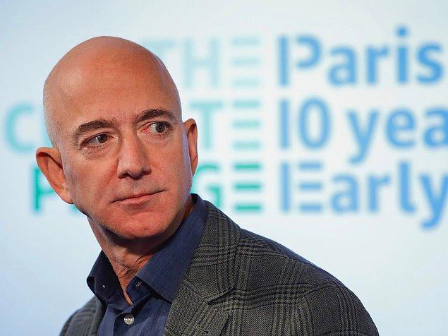 Jeff Bezos'un toplam serveti 116,4 milyar dolar