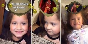 'Hangi Disney Karakterisin?' Efektinde Bir Türlü Prenses Çıkmayan Ufaklığın Moralinin Bozulduğu Anlar!