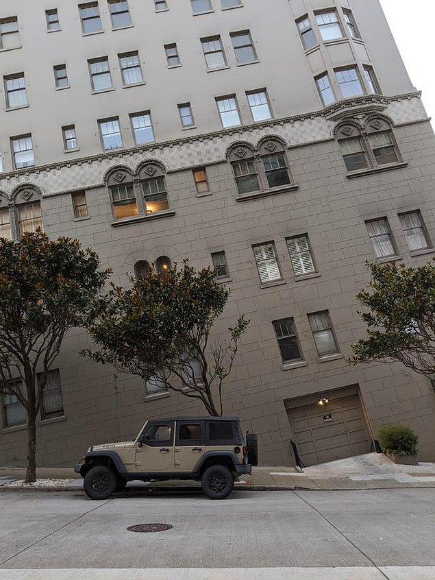 13. San Francisco'nun dik yokuşları