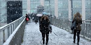 İstanbul'a Kar Ne Zaman Yağacak? 21 Ocak İçin Meteoroloji Uyardı Kar Geliyor!