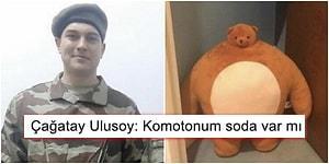 Değişimin Bu Kadarı! Askerlik Fotoğrafı Ortaya Çıkan Çağatay Ulusoy'a Gelen Birbirinden Komik Tepkiler