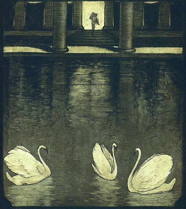 Lirizme de önem veren  František bunu çizimlerinde her fırsatta yansıtmayı başardı.